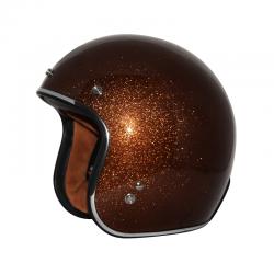 Zox ROUTE 80 VINTAGE METAL FLAKE Rootbeer Helmet