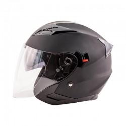 Journey Openface Helmet Matte Black by Zox