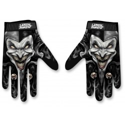 GLOVE JESTER BLK by Leathal threat
