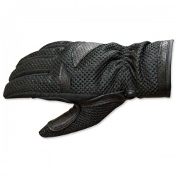 ROCKHARD WATERPROOF MESH GLOVES MENS BLACK