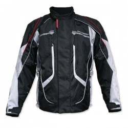 Ladies Advanced Jacket Black / Grey by Tour Master