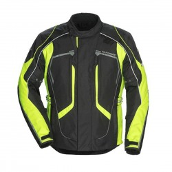 Ladies Advanced Jacket Black / Hi VIS by Tour Master