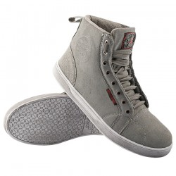BLACK NINE MOTO SHOES GREY By Speed & Strength