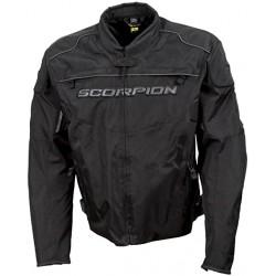 Scorpion Men's BATTALION Black Mesh Sport Bike Jacket