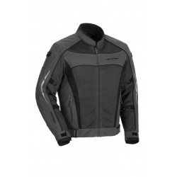 Mens High Temp Mesh Jacket Gunmetal