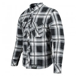 Rust And Redemption™ ARMOURED MOTO SHIRT Black / Grey