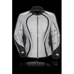 Cortech - Women's LRX Series 3 Textile Jacket silver/black