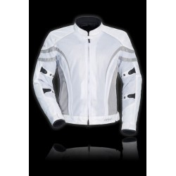 Cortech - Women's LRX Air 2 Mesh Jacket white/silver