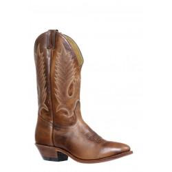 Boulet 7272 Damiana Moka Medium Cowboy Toe Boots
