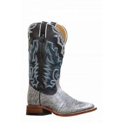 Boulet 8226 Grizzle Black/Sporty Black Wide Square Toe Boots