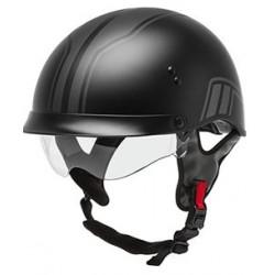 Gmax HH-65 Twin Full Dressed Half Helmet