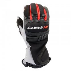 Meteor Textile Gloves Red/ Black