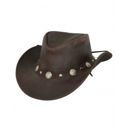 Outback's Rawhide Hat 1376 (Chocolate)