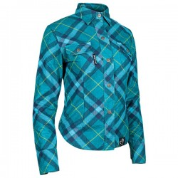 CROSS MY HEART™ MOTO SHIRT TEAL by Speed & Strength