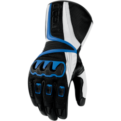Icon Compound Mesh Long Motorcycle Gloves