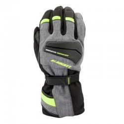 Element Insulated Textile Gloves Grey /hi vis / black