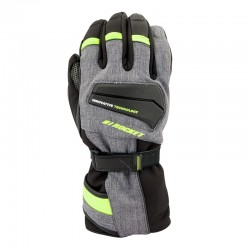Element Insulated Textile Gloves Grey /hi vis / black