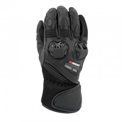 Highside Leather/Mesh Gloves Black