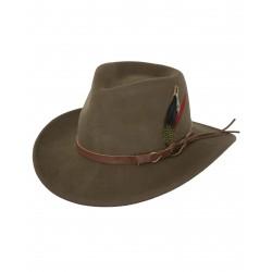 Outback's 1321 Randwick Austrailian Wool Hat Brown