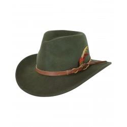 Outback's 1321 Randwick Austrailian Wool Hat Moss