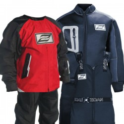 SMART SUIT W/RED SHELL -XL