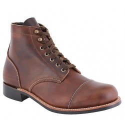 Substandard / Seconds Men's WM. Moorby footwear 2817 Pecan Tumbled