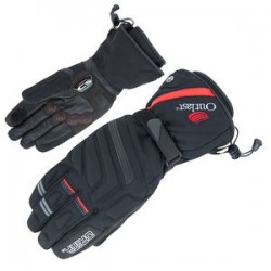 Winter gloves with neoprene-cuff