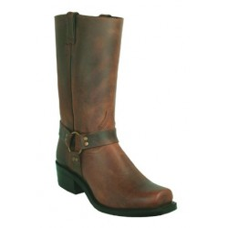 Old Town Brown Broad Square Toe Riding Boot BOULET 2131