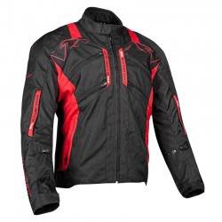 TRANS CANADA TEXTILE JACKET Black / red