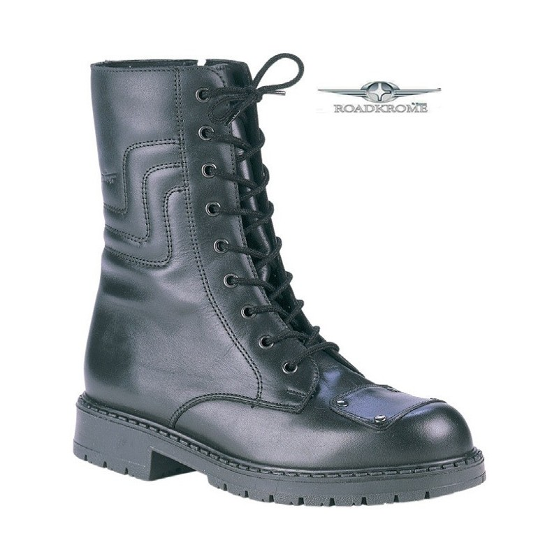 Roadkrome Doc Moto Mens Motorcycle Boots Leather King