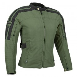 womens Joe Rocket WILDCAT TEXTILE JACKET olive