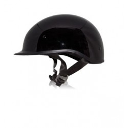 POLO SPORT Half helmet Gloss Black
