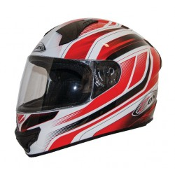 Full Face Helmet -Zox Thunder R2 Anthem Red