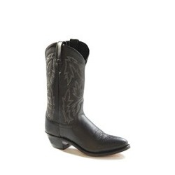 Old West Ladies Black Western Boots - OW2010L