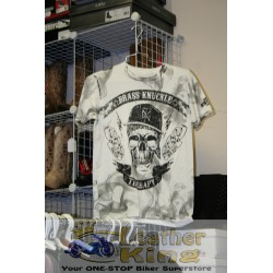 BKT - Brass Knuckle Therapy Tee - Smoke White
