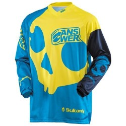 ANSR JERSEY SKULLCANDY BLUE/YELLOW