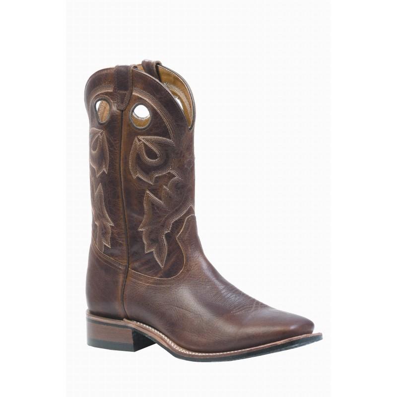 Boulet Damiana Moka Wide Square Toe Boot 3024