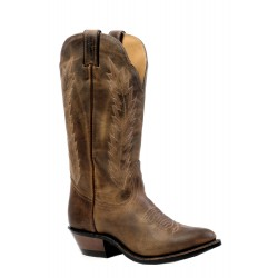"Boulet 13"" Ladies HillBilly Golden Medium Cowboy Toe Boot 4236"