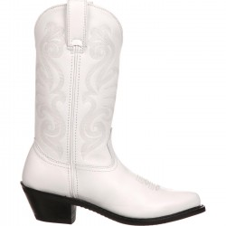 DURANGO RD4111 WHITE LEATHER WESTERN BOOT