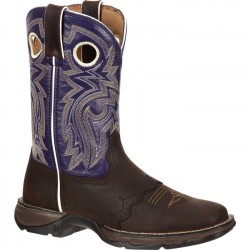 LADY REBEL BY DURANGO WOMEN'S TWILIGHT N' LACE SADDLE WESTERN BOOT