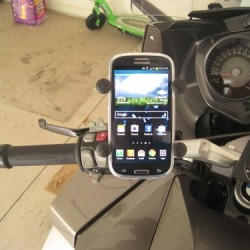 RAM X - Grip with Handlebar Rail Mount