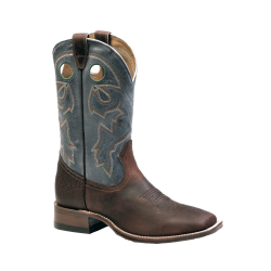 Boulet Laid Back Copper Mens Wide Square toe boot 9285