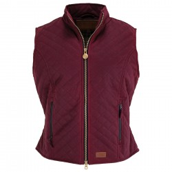 LADIES QUILTED VEST 2177