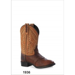 Old West Childrens 1936 Ultra Flex Western Boots