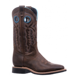 """Boulet 12"""" Ladies Extralite HillBilly Golden wide square toe boot 5202"""