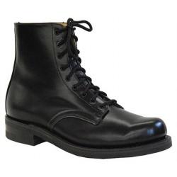 "Men`s CANADA WEST® Service Footwear - 7"" Black Oxford - Smooth - 13205"