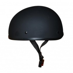 Worlds smallest Lightest helmet Flat Black No Peak