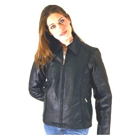 WOMENS Collar braided Jacket
