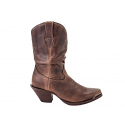 CRUSH BY DURANGO WOMEN'S BROWN SULTRY SLOUCH BOOT