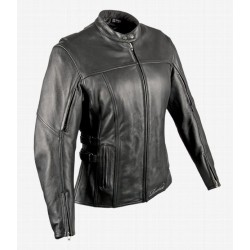 JOE ROCKET WOMENS DIVA Leather Jacket Black